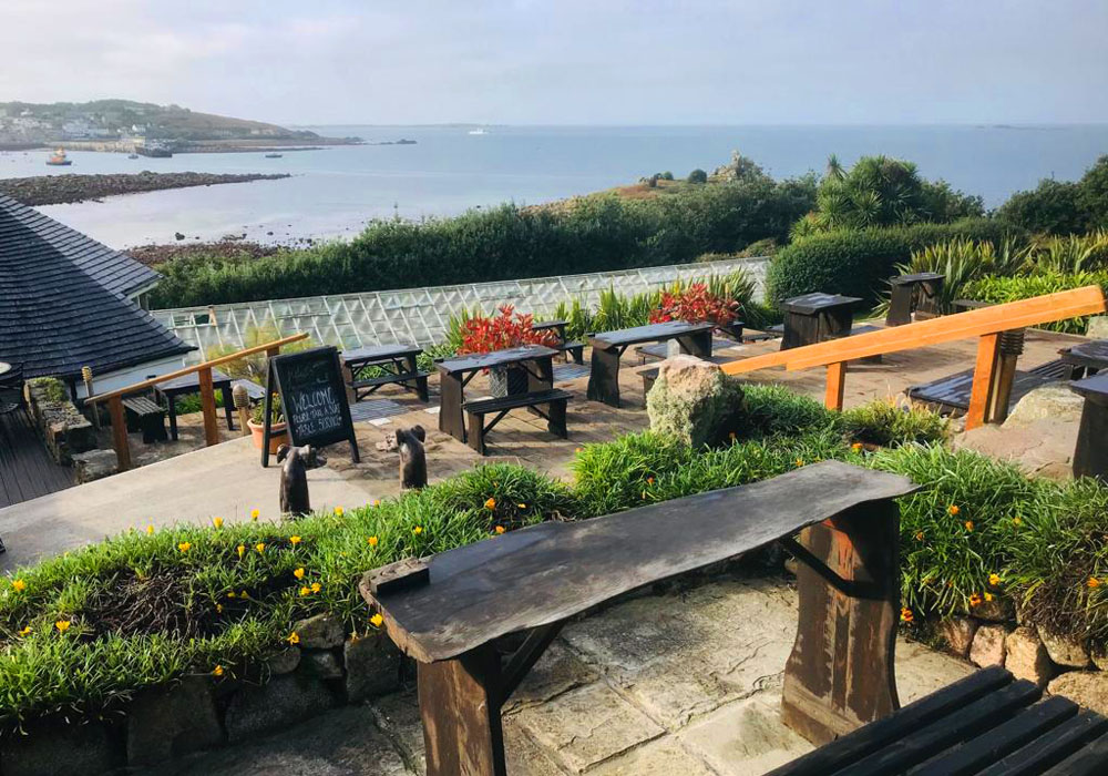 Juliet's Garden Cafe Restaurant Isles of Scilly