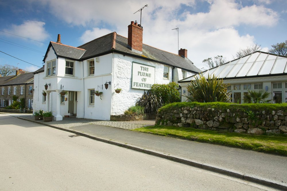 The Plume of Feathers, Cornwall Pub, Mitchell, near Newquay